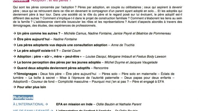 Présentation revue Accueil n°183